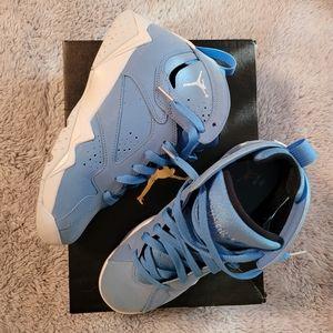 University Blue Air Jordan 7 Retros